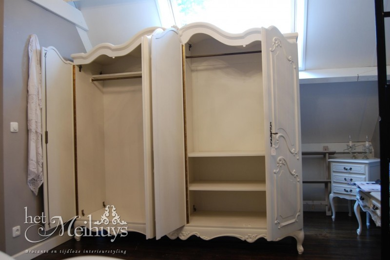 ... Barok Queen Ann Shabby Chic Witte Kaptafel Pictures to pin on